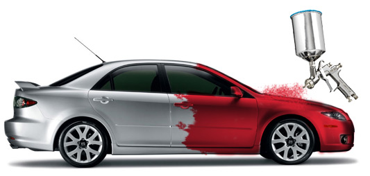 Automobilio dazymas