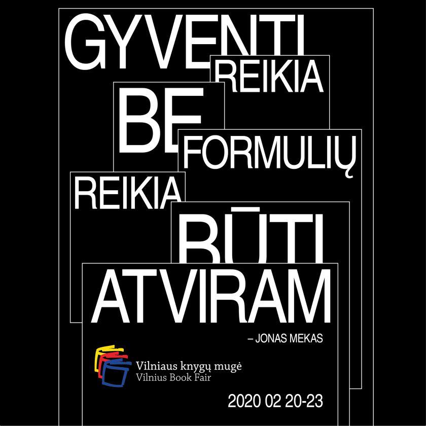 J. Meko įkvėpti Vilniaus knygų mugės organizatoriai: mažiau formulių, daugiau atvirumo