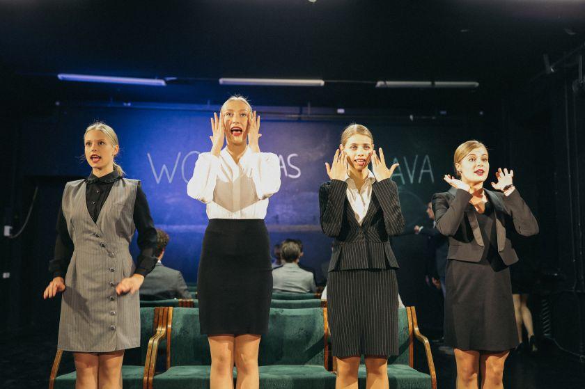 Nacionalinio Kauno dramos teatro turas po Lietuvą – skirtingi spektakliai, skirtingi miestai