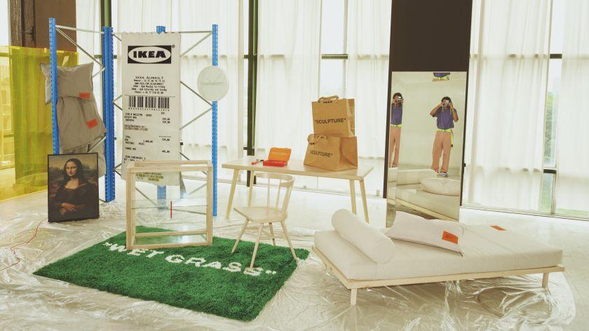 IKEA pristato riboto kiekio kolekciją, sukurtą su mados pasaulio ikona – Virgilu Abloh