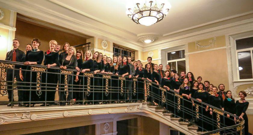 """Vilniaus universiteto choro """"Pro musica"""" 15-asis gimtadienis tango ritmu"""