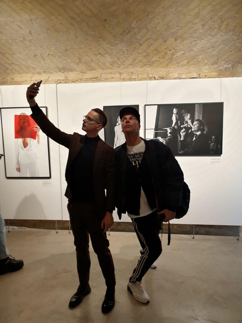 Fotografas D. Ščiuka pristatė antrą personalinę parodą