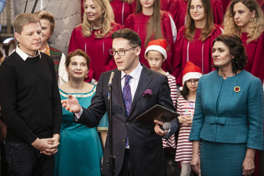 Vilniuje duris atvėrė kasmetinė Tarptautinė Kalėdų labdaros mugė