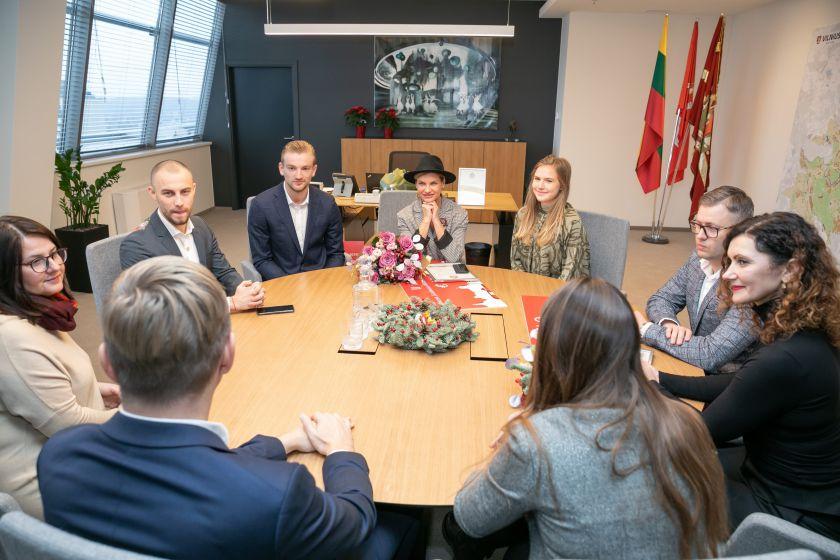 Vilnius išrinko šventiškiausias miesto vitrinas