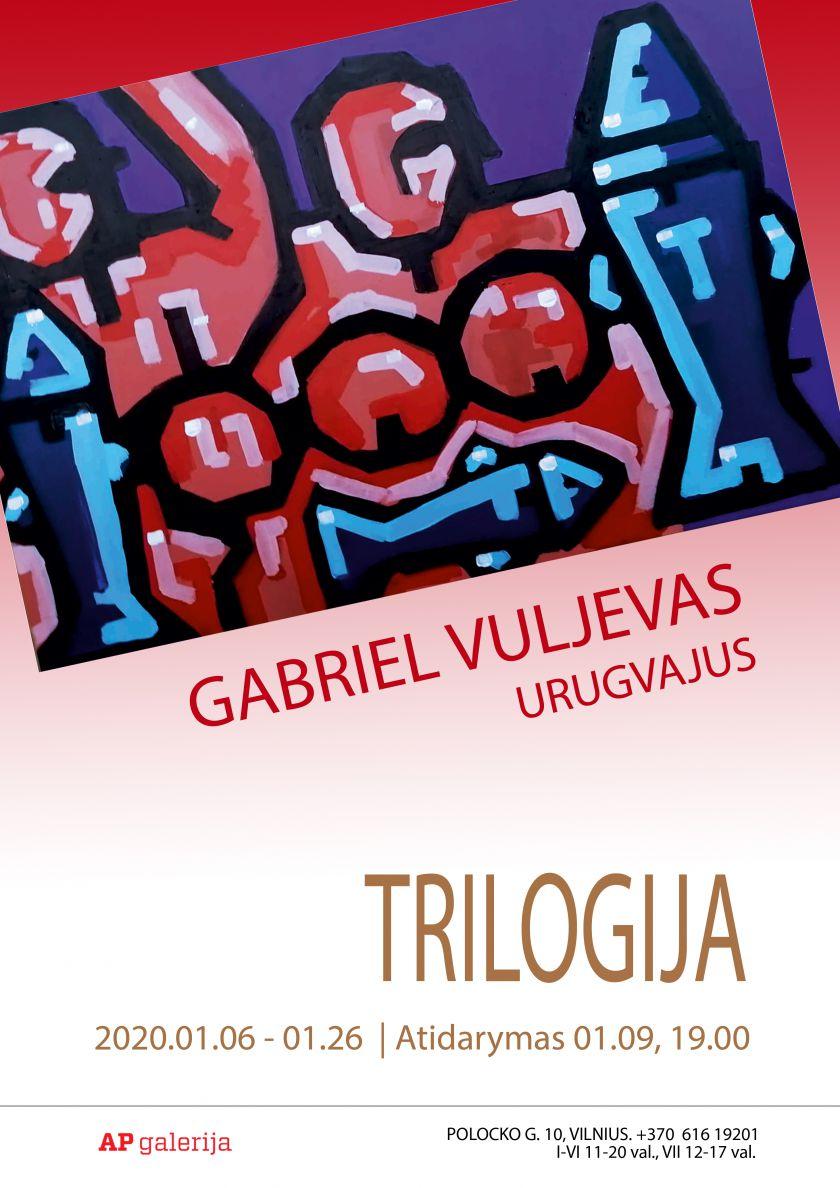 """Į Lietuvą atvežta lietuvių kilmės urugvajiečio Gabriel Vuljevo paroda """"Trilogija"""""""