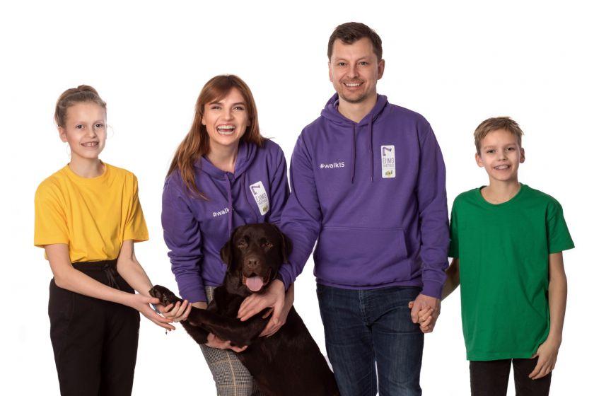 """Vlada Musvydaitė ir """"Iki"""" kviečia žingsniuoti – tai labiausiai šeimai pritaikytas sportas"""