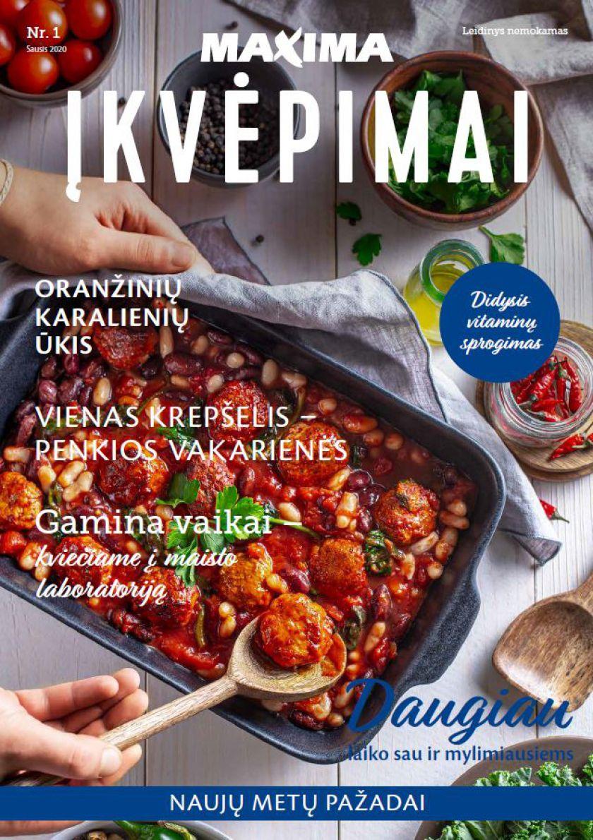 """""""Maxima"""" pristato naują savo žurnalą """"Įkvėpimai"""""""