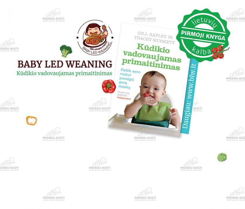 Lietuvoje pirmoji knyga apie BLW – pasaulį užkariavusį kūdikių primaitinimo būdą