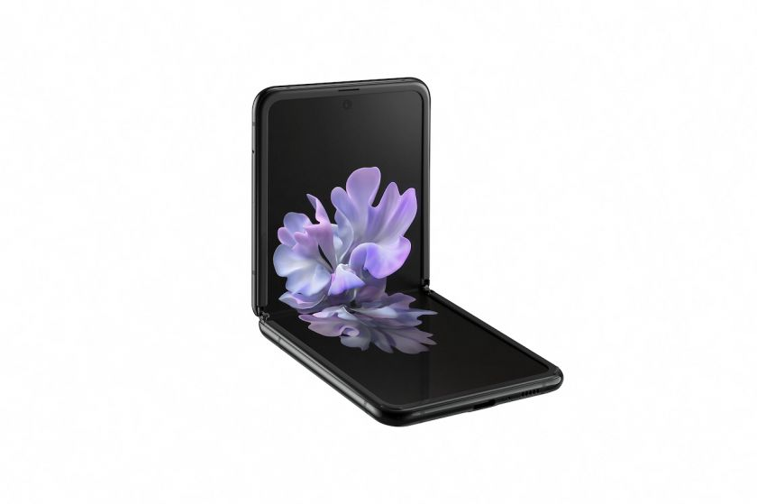 """""""Samsung"""" pristatė naują sulenkiamą telefoną """"Galaxy Z Flip"""""""
