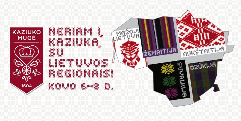 Nenukoronuotas Kaziukas kviečia nerti į mugę su Lietuvos regionais