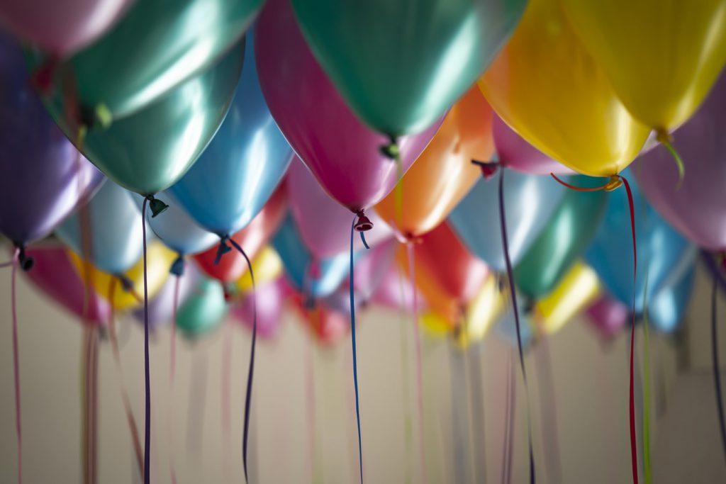 kur švęsti gimtadienį