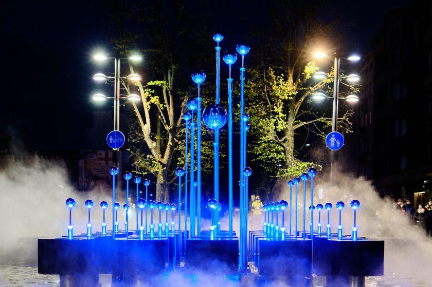 Atgijęs legendinis Laisvės alėjos fontanas stebins vandens, muzikos ir šviesų šokiu