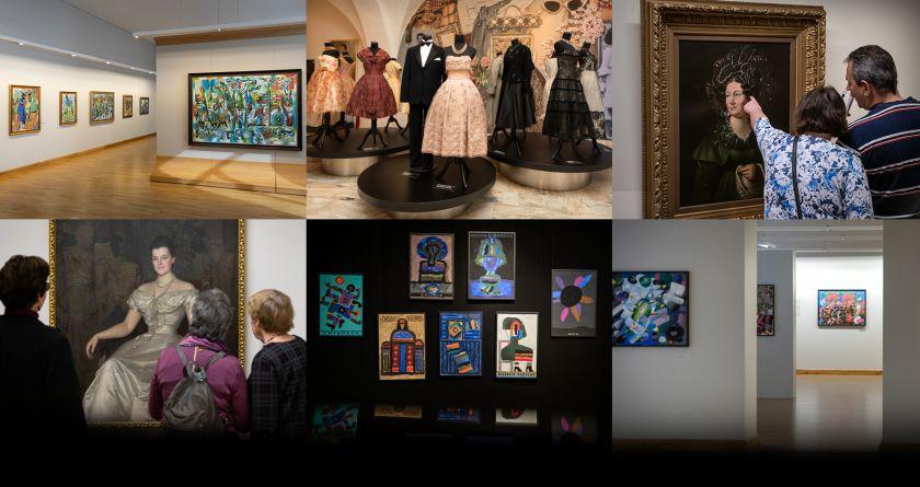 Nuo gegužės 22 dienos pradeda veikti visi Lietuvos nacionalinio dailės muziejaus padaliniai Vilniuje ir pajūryje