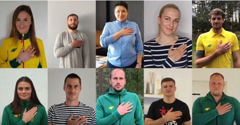""",""""Eurovaistinės"""" skiepijamas saugus sveikinimosi būdas plinta – vis daugiau žmonių glaudžia ranką prie širdies"""