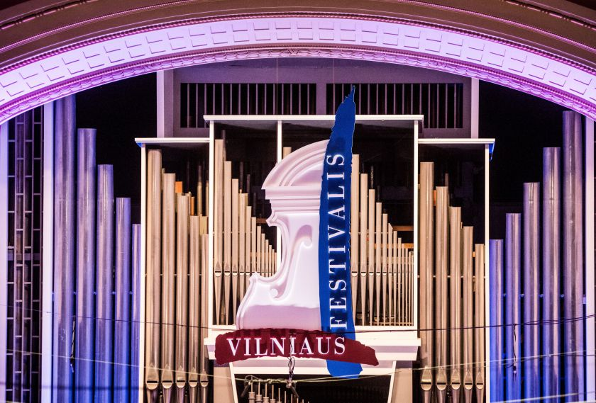 """""""Vilniaus festivalio mozaika"""" – nuo Vivaldi iki Mahlerio"""