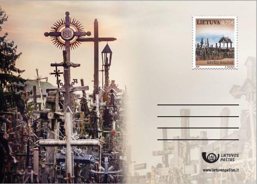 Išleidžiamas ženklintas atvirukas Kryžių kalnui
