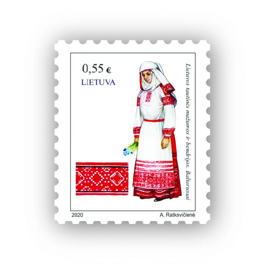 Lietuvos paštas išleis pašto ženklą baltarusiams