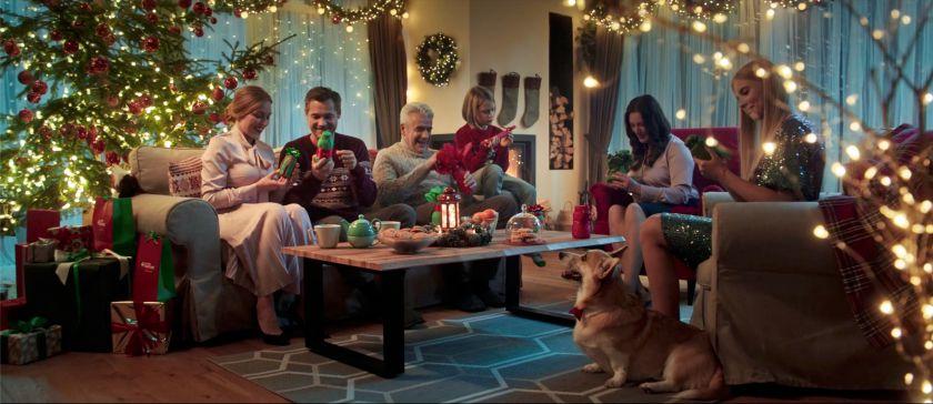 """""""Eurovaistinės"""" kalėdinėje reklamoje – stiprybė nustebinanti net V. Blekaitį"""