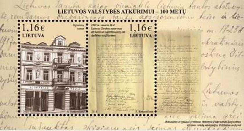 Kokią istoriją apie Vasario 16-ąją pasakoja pašto ženklai?
