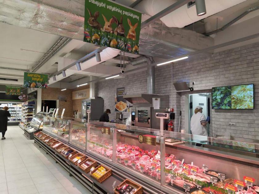 """""""Iki"""" atidarė dvi rekonstruotas parduotuves Vakarų Lietuvoje"""